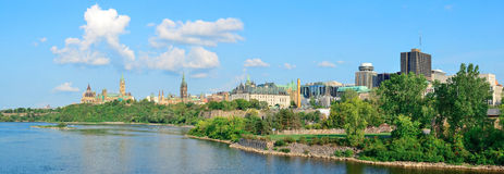 Ottawa cityscape Royalty Free Stock Photo