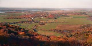 Ottawa dal i höst Arkivbild
