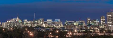 Ottawa en la oscuridad imagen de archivo libre de regalías