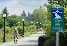 Ottawa flodbana Royaltyfria Bilder