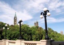 Ottawa gataljus 2008 Arkivfoto