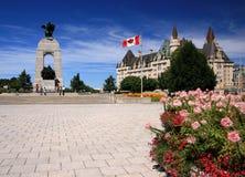 Ottawa - grand dos de confédération Images stock