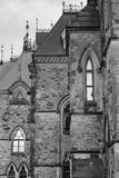 Ottawa historical buildings Royalty Free Stock Images