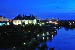 Ottawa - Hooggerechtshof van Canada Stock Foto's