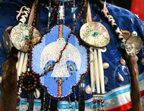 Ottawa Indische Beadwork Royalty-vrije Stock Afbeelding