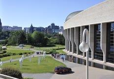 Ottawa, 26 Juni: Canadees Museum van Geschiedenispark van Ottawa in Canada royalty-vrije stock foto