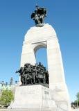 Ottawa krigminnesmärken 2008 Royaltyfria Bilder
