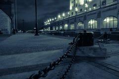 Ottawa lås på natten arkivfoton