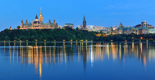 Ottawa la nuit Images stock