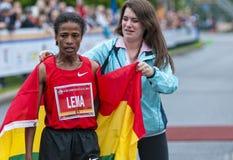 Ottawa-Marathon 2011 Stockfotos