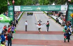 Ottawa Marathon Men's Winner Stock Photo