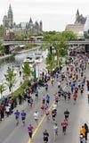 2013 Ottawa Marathon Royalty Free Stock Photo