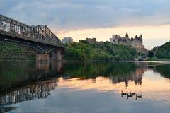 Ottawa morning Royalty Free Stock Image