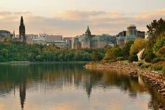 Ottawa morning Royalty Free Stock Photography
