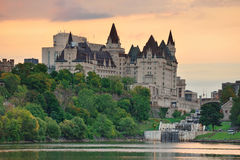 Ottawa morning Royalty Free Stock Images