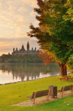 Ottawa morning Stock Photography