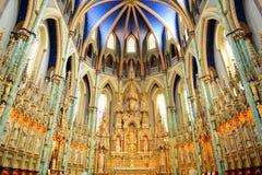 Ottawa Notre Dame Basilica imagens de stock royalty free