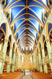Ottawa Notre Dame Basilica Royalty Free Stock Photography