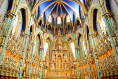 Ottawa Notre Dame Basilica Royalty Free Stock Images