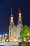 Ottawa Notre Dame Basilica stock images