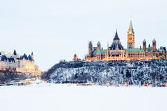 Ottawa parlamentkulle Royaltyfri Foto