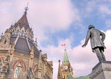 Ottawa parlamentmitt Maj 2008 Royaltyfri Bild