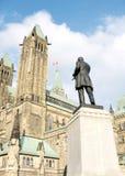 Ottawa parlamentmonument och torn 2008 Arkivbilder