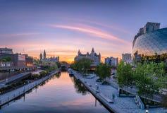 Ottawa-Parlaments-Hügel Stockbild