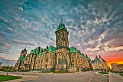 Ottawa Parliament Building Royalty Free Stock Photo