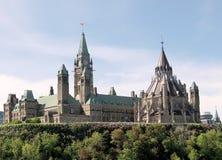 Ottawa Parliament 2008 Royalty Free Stock Photo