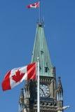 Ottawa parliament Royalty Free Stock Image