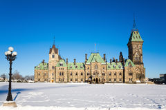 Ottawa parliament East Block Stock Photography
