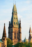 Ottawa Parliament Hill building Royalty Free Stock Images