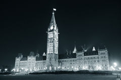Ottawa Parliament Hill building Royalty Free Stock Photo