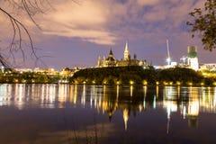 Ottawa Parliament Hill Royalty Free Stock Photography