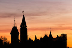 Ottawa Parliament Hill Royalty Free Stock Images