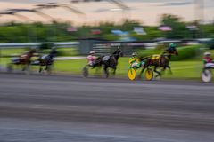 Ottawa-Pferderennen stockfoto