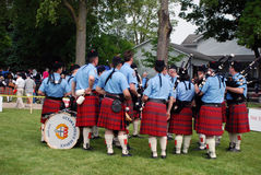 Ottawa Police Pipe Band Royalty Free Stock Photo