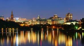 Ottawa przy nocą Zdjęcia Stock