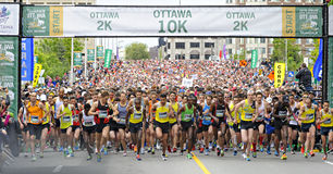 Ottawa Race Weekend Royalty Free Stock Image