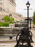 Ottawa Rideau Canal Locks Royalty Free Stock Image
