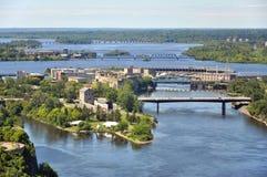 Ottawa River, Ontario, Canada Royalty Free Stock Images