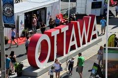 Ottawa`s Inspriation Village Stock Image