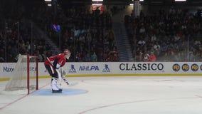 Ottawa Senators vs New Jersey Devils stock footage