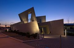 National Holocaust Monument at Night Royalty Free Stock Images
