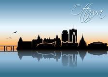 Ottawa skyline - Canada - vector illustration Stock Photography