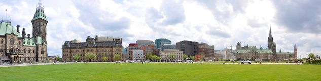 Ottawa Skyline Panorama Stock Photo