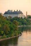 Ottawa solnedgång Royaltyfri Bild