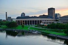Ottawa sunset Royalty Free Stock Photo