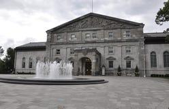 Ottawa, 26th Czerwiec: Rideau Hall buduje od Ottawa w Kanada fotografia royalty free
